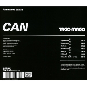 Can - Tago Mago (Remastered) (Back)