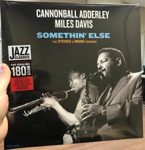 Cannonball Adderley & Miles Davis - Somethin' Else (The Stereo & Mono Versions) (2LP)