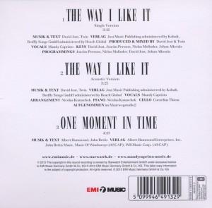 Capristo,Mandy - The Way I Like It (Back)
