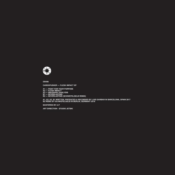 Cardopusher - Flesh Impact EP (Back)
