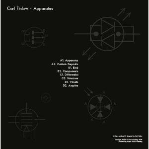 Carl Finlow - Apparatus (140 gram vinyl 2xLP) (Back)