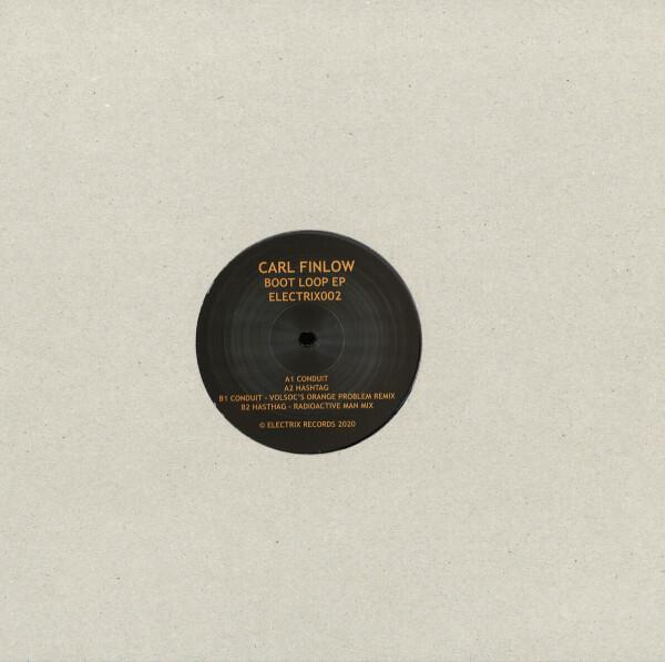 Carl Finlow - Boot Loop EP (reissue) (Back)