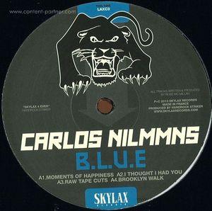 Carlos Nilmmns - B.L.U.E. VINYL ONLY