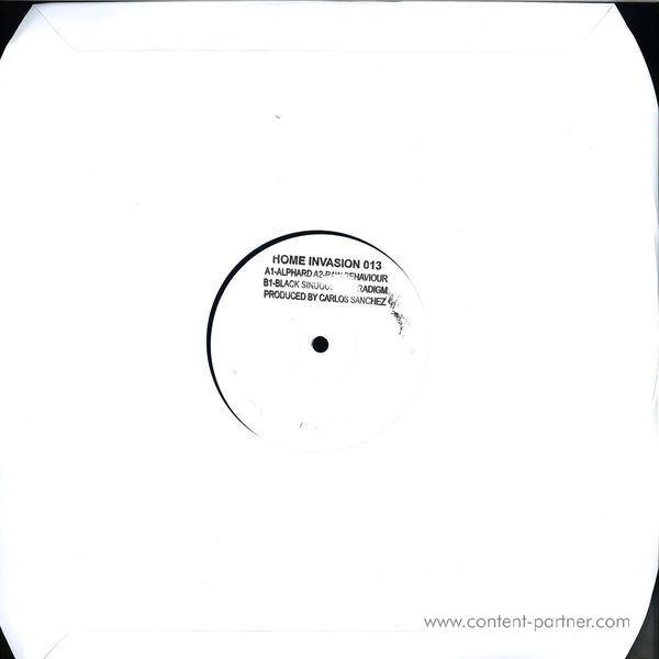Carlos Sanchez - Alphard EP (Back)
