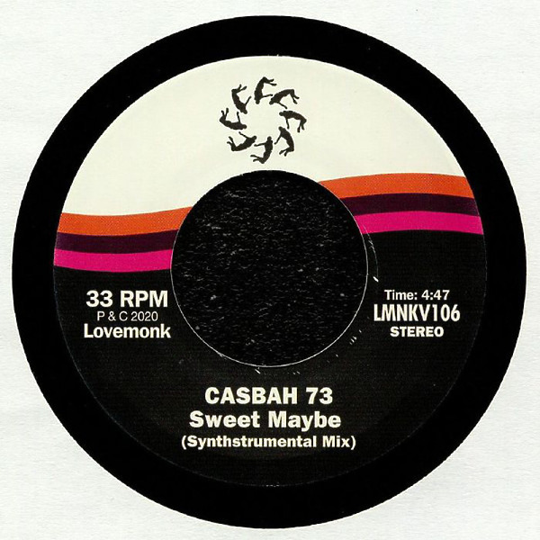 "Casbah73 - Sweet Maybe (7"") (Back)"