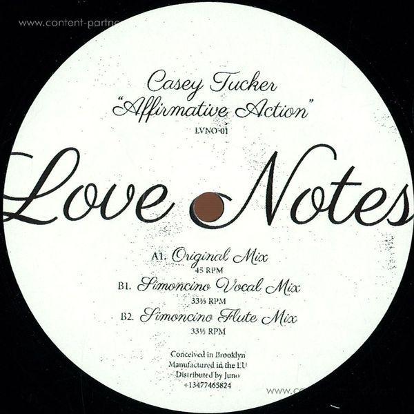 Casey Tucker - Affirmative Action (Simoncino Remixes)