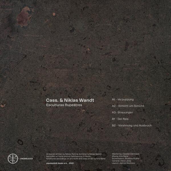 Cass. & Niklas Wandt - Esculturas Rupestres (Back)