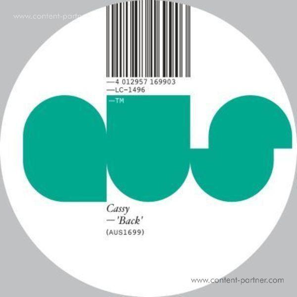 Cassy - Back EP