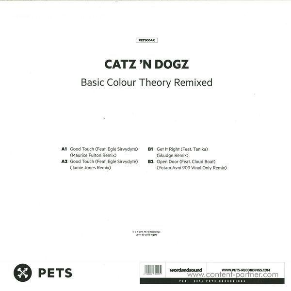 Catz 'n Dogz - Basic Colour Theory Rmxs By Maurice Fulton.... (Back)