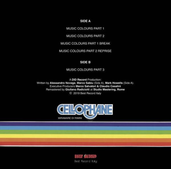 Cellophane - Music Colours (Back)