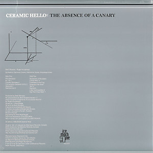 Ceramic Hello - The Absence Of A Canary (Back)