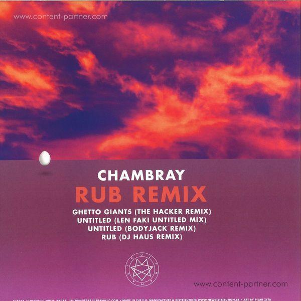Chambray - Rub Remixes (Back)