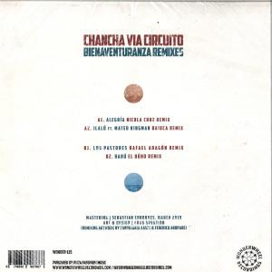Chancha Via Circuito - Bienaventuranza Remixes (Back)