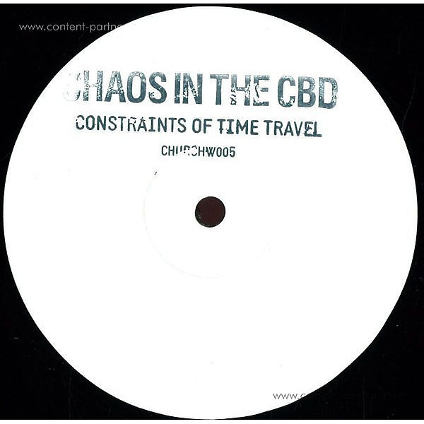 Chaos In The CBD - Constraints Of Time Travel