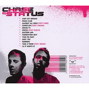 Chase & Status - More Than Alot (Back)