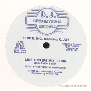 Chip E. Inc. Featuring K. Joy - Like This
