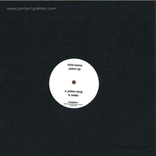 Christ Hanna - Psiren EP (Incl Ejeca Remix) (Back)