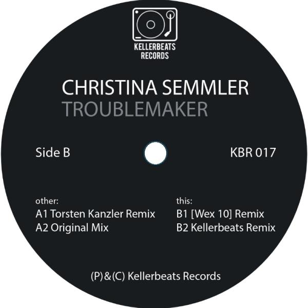 Christina Semmler - Troublemaker (Back)