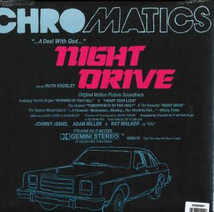 Chromatics - Night Drive (Ltd Ivory 2LP Reissue) (Back)