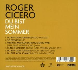 Cicero,Roger - Du Bist Mein Sommer (Back)