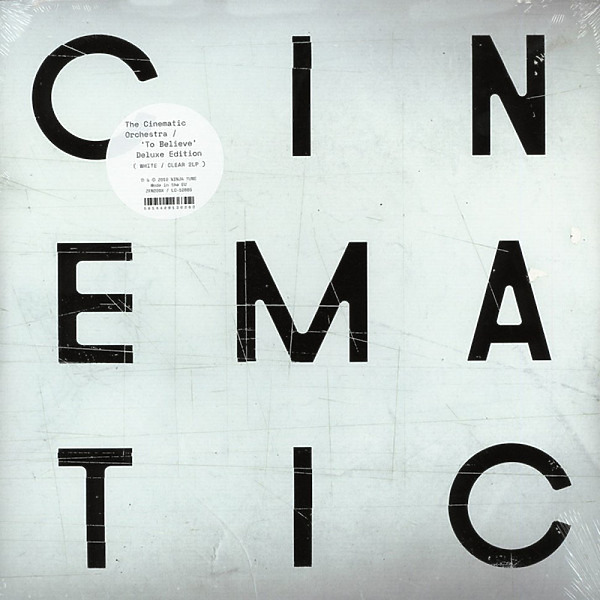 Cinematic Orchestra - To Believe (LTD White/Clear Heavyweight 2LP+MP3)