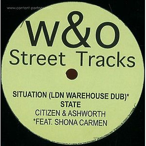 Citizen & Ashworth - Situation Ep (180g Vinyl 12