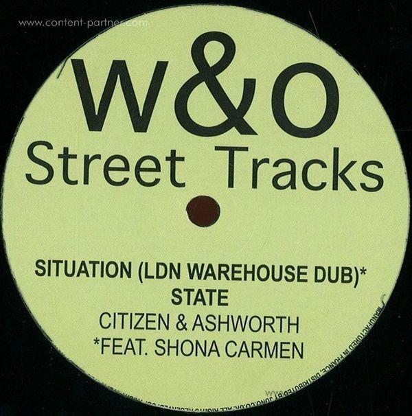 Citizen & Ashworth - Situation Ep (180g Vinyl 12