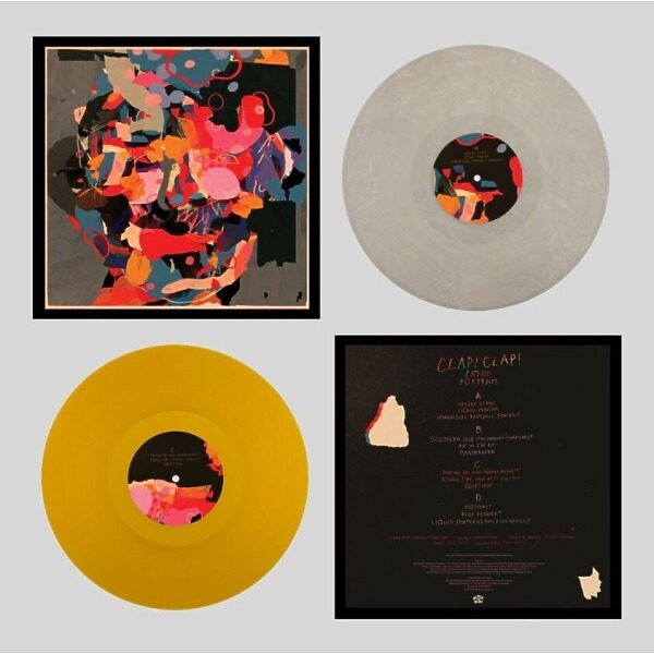 Clap! Clap! - Liquid Portraits (Ltd. Coloured 2LP)