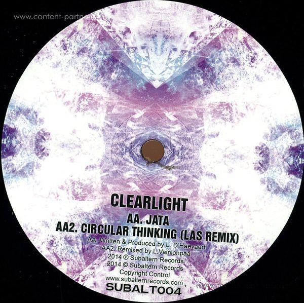 Clearlight - Circular Thinking Ep (Back)