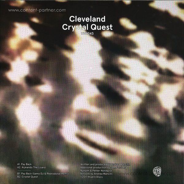 Cleveland - Crystal Quest (Back)