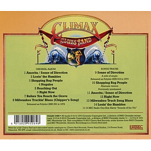 Climax Blues Band - Sense Of Direction (Remastered+Expanded) (Back)