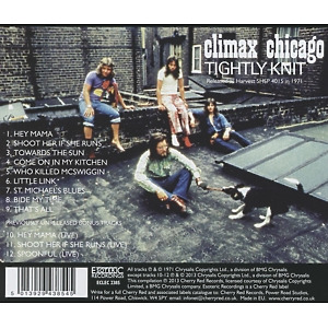 Climax Blues Band - Tightly Knit (Remastered+Expanded Edit.) (Back)