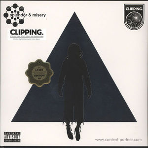 Clipping - Splendor And Misery (Loser Edition) [Clear Vinyl]