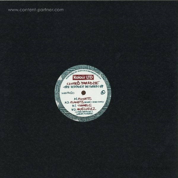 Closed Paradise - The Distance Between (Back)