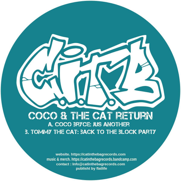 Coco Bryce / Tommy The Cat - Cat In The Bag 07 [turquoise vinyl] (Back)