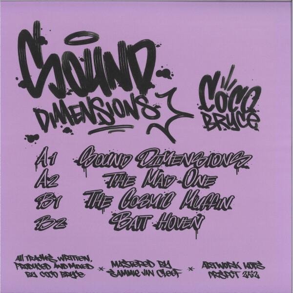 Coco Bryce - Sound Dimensions EP (Back)