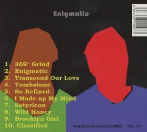 Cola & Jimmu - Enigmatic (Back)