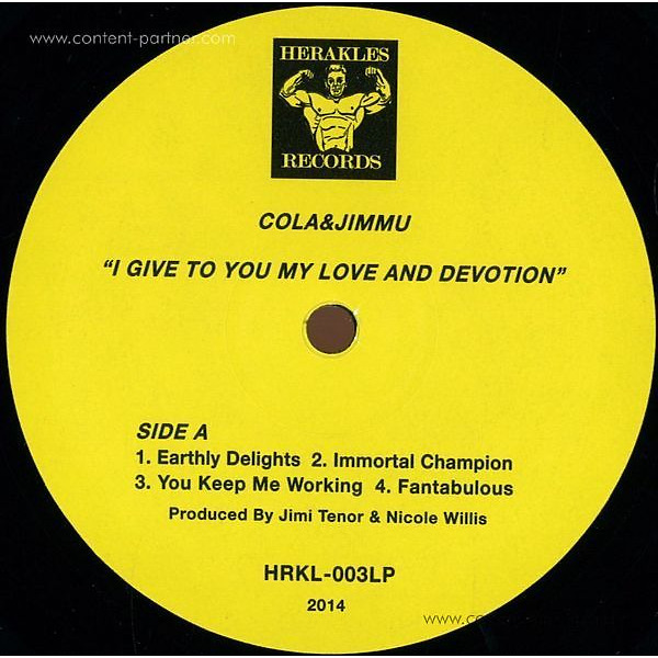 Cola & Jimmu - Give You My Love And Devotion
