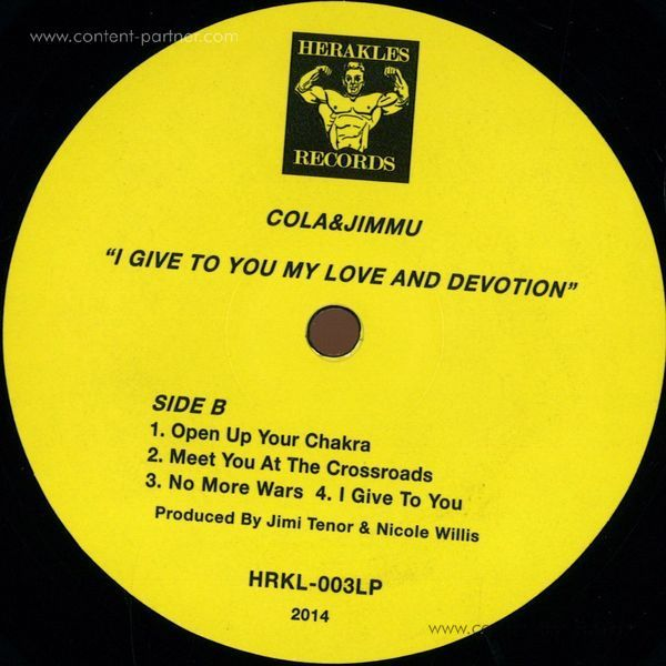 Cola & Jimmu - Give You My Love And Devotion (Back)