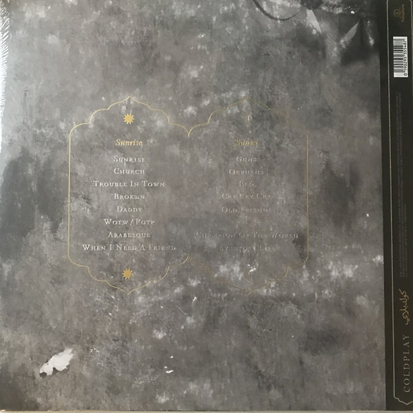 Coldplay - Everyday Life (2LP) (Back)