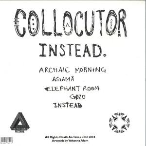 Collocutor - Instead (Back)