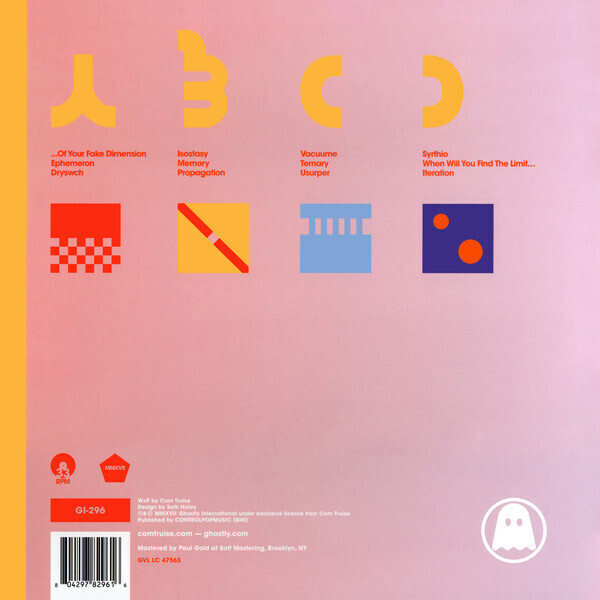 Com Truise - Iteration (2LP) (Back)