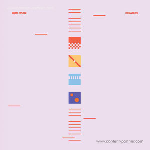 Com Truise - Iteration (Ltd. Blue/White Vinyl 2LP)
