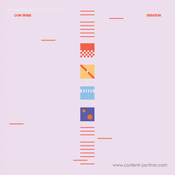 Com Truise - Iteration (Ltd. Blue/White Vinyl 2LP)