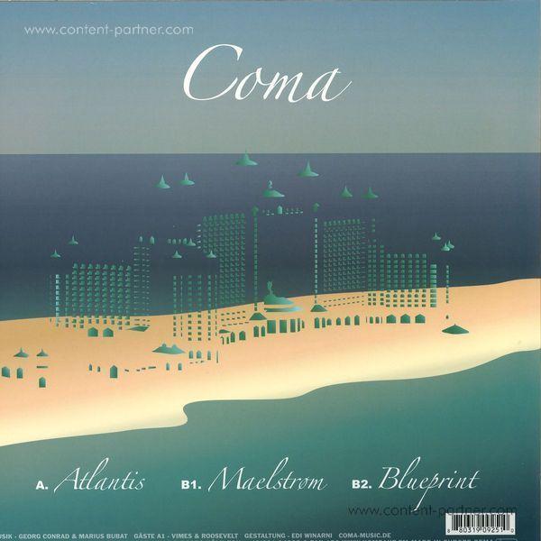 Coma - Atlantis (Back)