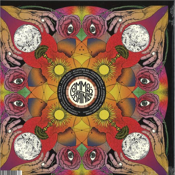 Common Saints - Idol Eyes (EP) (Back)
