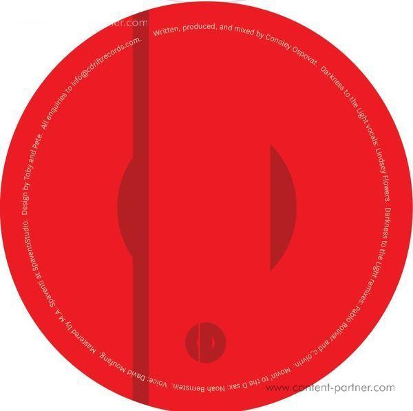 Conoley Ospovat - Darkness to the Light, Pablo Bolivar Rmx (Back)