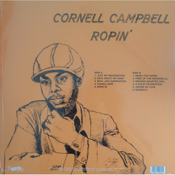 Cornell Campbell - Ropin' (LP) (Back)