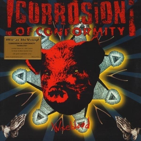 Corrosion Of Conformity - Wiseblood (Ltd. Silver&Black Swirled 2LP)
