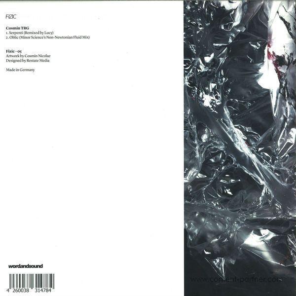 Cosmin Trg - Oblic / Serpenti Rmxs (Back)